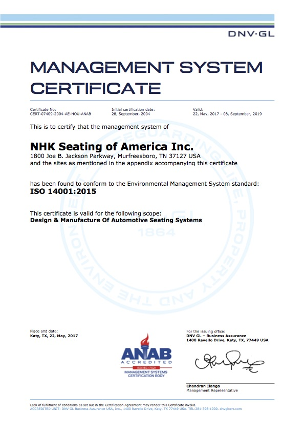 Compliance & Certifications