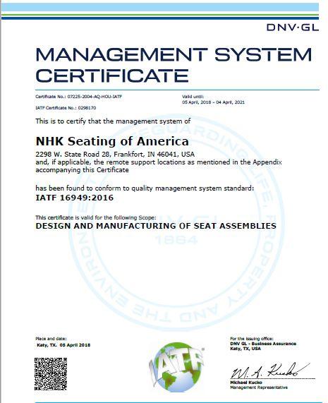 IN-MSC 16949-2016